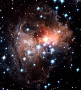 Star Cluster V838 Monocerotis