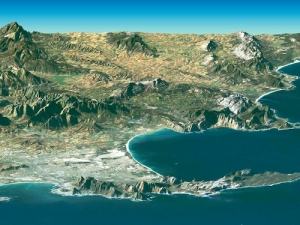 LandSat Image of Cape Town & Cape of Good Hope