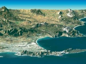 LandSat Image of Cape Town & Cape of Good Hope