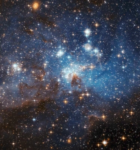 Hs-2006-55 a Star-forming region lh95 in the large magellanic cloud Credit: NASA, ESA, and the Hubble Heritage Team (STScI/AURA)-ESA/Hubble Collaboration