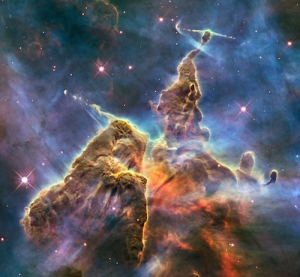 Hubble Captures View of 'Mystic Mountain'