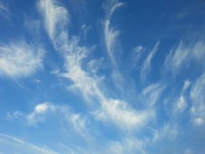 Wispy Clouds