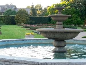 Fountain at the Falls