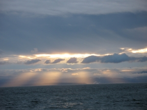 Sunlight Thru Ocean Cloudswp