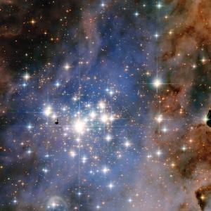 Trampler 14: Glittering star cluster.