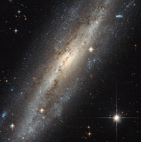 A spiral in Andromeda